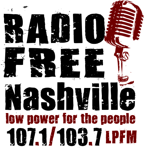 NEW Radio Free Nashville Logo